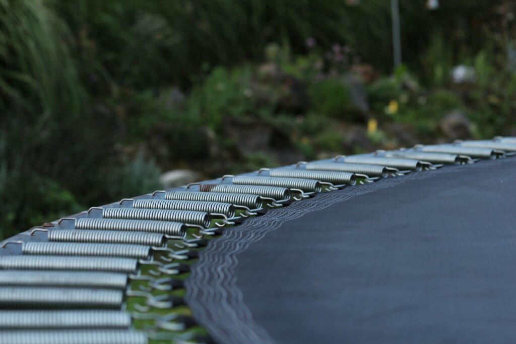 clean trampoline springs