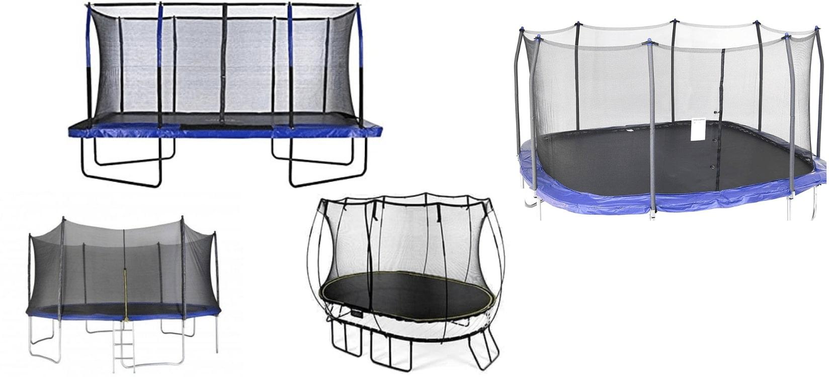 Oval vs round vs square vs rectangle trampoline