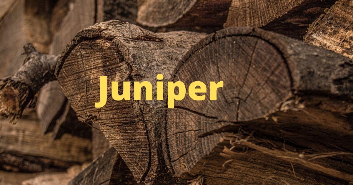 juniper-firewood