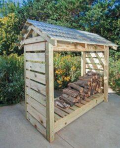 firewood- rack -outdoor